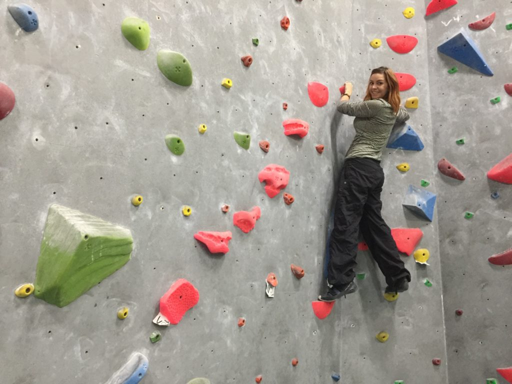 Trying Desert Rocks Climbing Gym In Palm Springs
